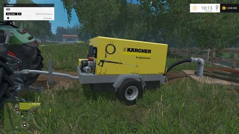 Pur Water Filled Teether 6m kaercher portable pressure washer v1 0 farming simulator