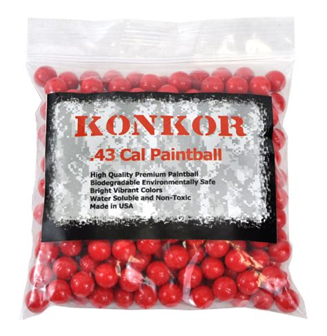 V Two Paintball Bullets paintball ammo konkor