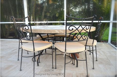 mosaic outdoor dining table 170cm outdoor garden marble mosaic dining table luxor