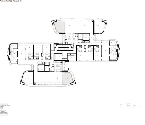 ardmore 3 floor plan gallery of ardmore residence unstudio 9