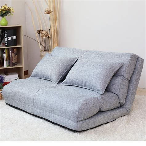 korean floor bed korean style fabric folded sponge floor sofa with 5