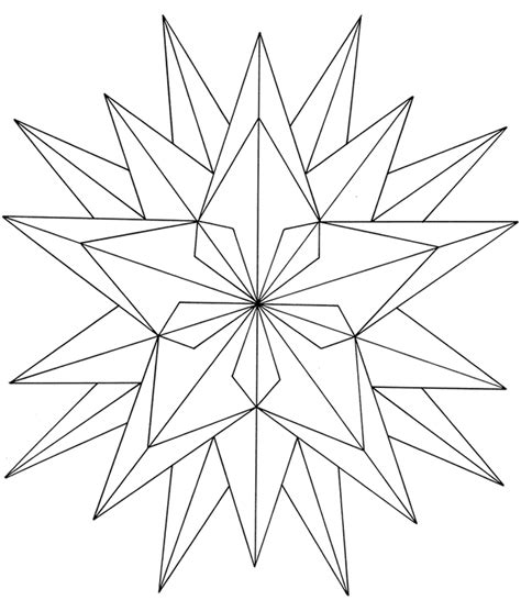 Easy Geometric Coloring Pages Az Coloring Pages Geometric Coloring Pages Free