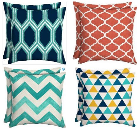 Outdoor Pillows Only by Walmart Outdoor Cushions Pillows Only 5