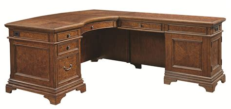 desk l with outlet aspenhome hawthorne l shaped desk with 4 drawers and ac