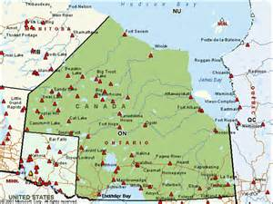 nations canada map map of canadian nations reserves pictures to pin on