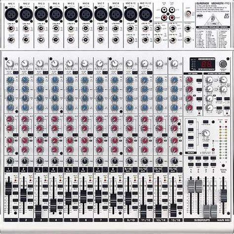 Mixer Behringer Sx 2442 Fx behringer xenyx 2442 fx behringer xenyx 2442 fx 24ch