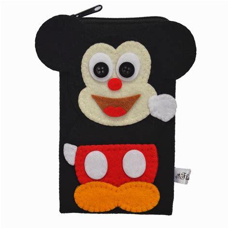 Dompet Hp Mickey pernak pernik flanelade