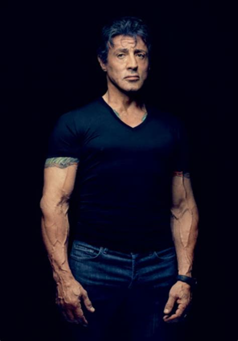 stall one yo it s not easy being sylvester stallone gq