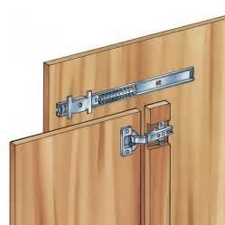 open and slide cabinet doors inset 35mm hinges one set for one door rockler