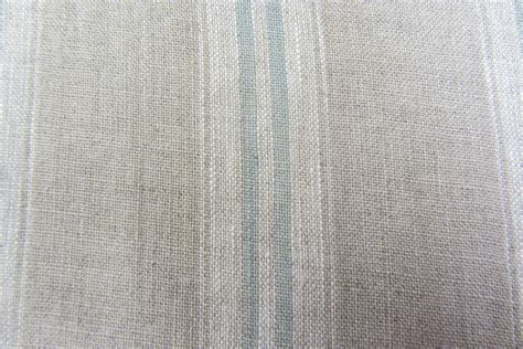 striped linen upholstery fabric french vintage linen stripe duckegg curtain craft