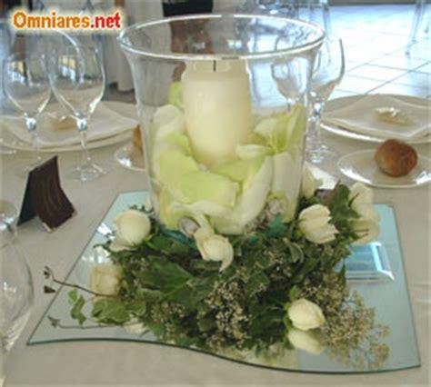composizioni con candele centrotavola