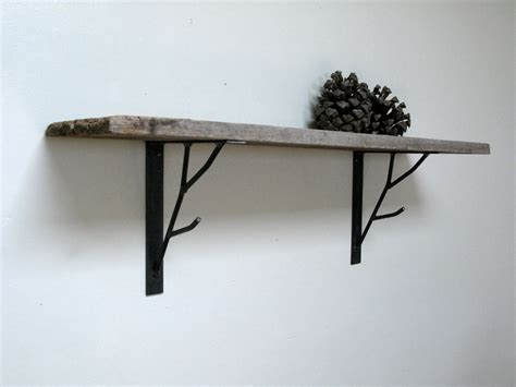 Shelf Brackets by Branch Shelf Bracket By Hawkandstone On Etsy