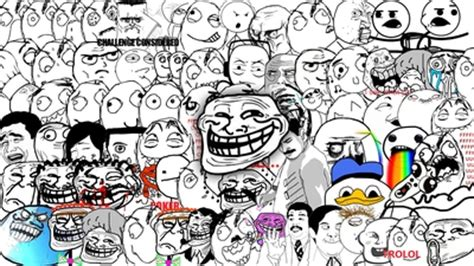Meme Face Wallpaper - trollface faces me gusta poker face trololo troll memes