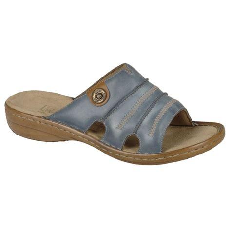 mule sandals for rieker womens ganges denim mule sandal 60876 12 at