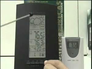 Radio Controlled Bar888 Weather Forecaster Radio Controlled Clock