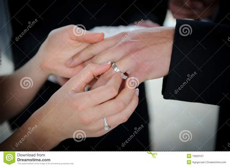 Wedding Ring Exchange Clipart by Wedding Rings Exchange Royalty Free Stock Photography