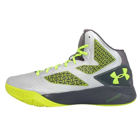green armour basketball shoes armour ua clutchfit drive 2 grey green mens