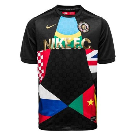 Tshirt Nike F C Black nike f c t shirt black www