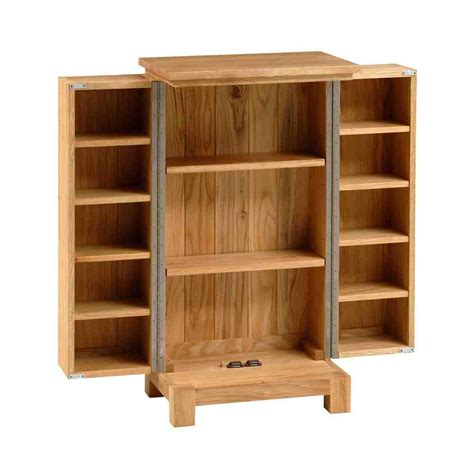 Oak Cd Storage Cabinet Oak Dvd Storage Cabinet Home Furniture Design