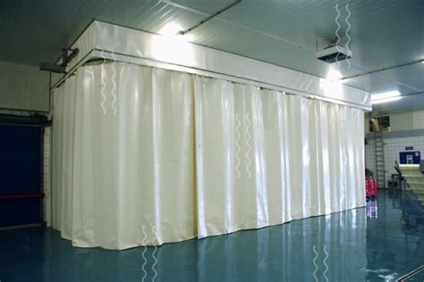 industrial soundproofing curtains vlp flexibele afscheidingen