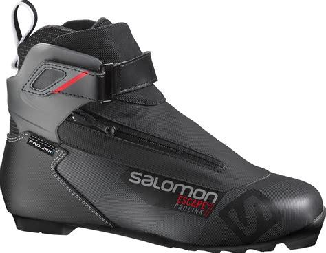 s cross country ski boots salomon s escape 7 prolink cross country ski boots