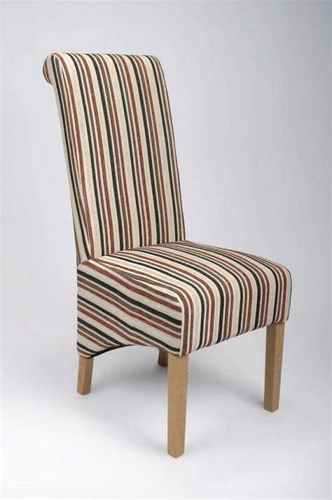 striped dining chairs eton brown stripe dining chair capital dining chairs