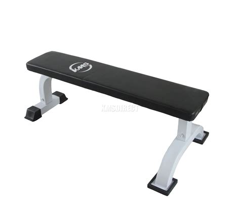 steel fitness flat bench weight lifting utility dumbbell