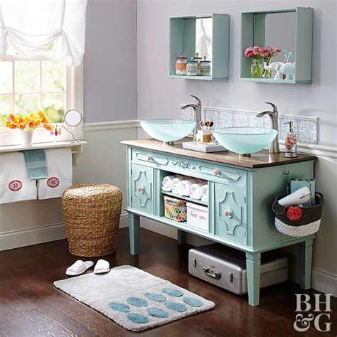 Do It Yourself Bathroom Vanity Ideas 14 Ideas For A Diy Bathroom Vanity Better Homes Gardens
