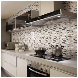 peel and stick kitchen backsplash travertine subway tile kitchen backsplash with a mosaic
