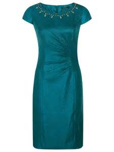 precis petite embellished dress in teal lyst