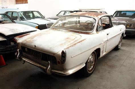 renault caravelle for sale rarity 1960 renault caravelle convertible