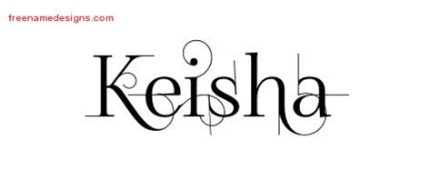 tattoo name keisha keisha archives free name designs