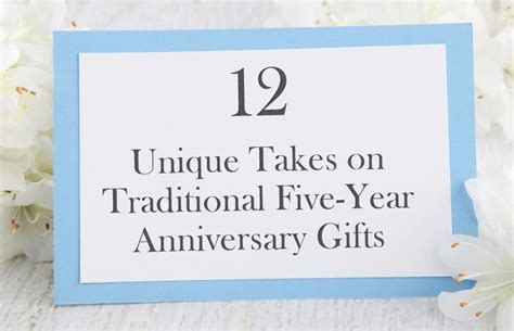 12 Unique Five Year Anniversary Gifts   Bradford Exchange Blog