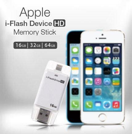 Iflashdrive Hd Memory External Storage Otg Card Reader Apple Iphone Te 8gb 16gb 32gb 64gb i flash device hd expansion memory stick for apple althemax