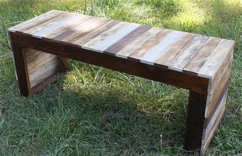 wood sitting bench wooden pallet sitting bench plans pallet wood projects