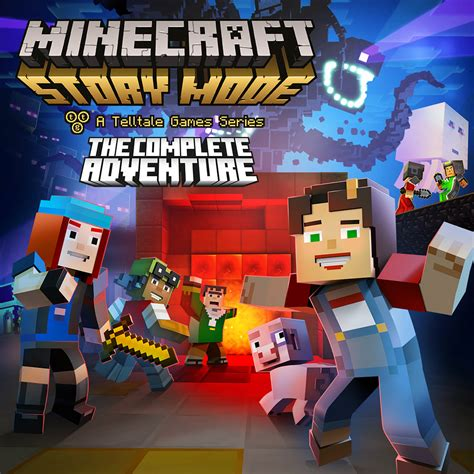 Switch Minecraft Story Mode Complete Adventure minecraft story mode the complete adventure nintendo