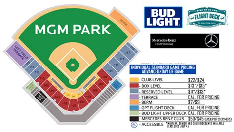 Mgm Ticket Office by Mgm Park Seating Chart Milb Tickets The Official