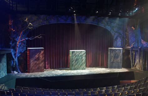 stage to stage books the theatrical designs of gary benson into the woods
