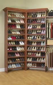 Shoe Storage In Closet by Project Working Idea Access Plans For Revolving Shoe Rack