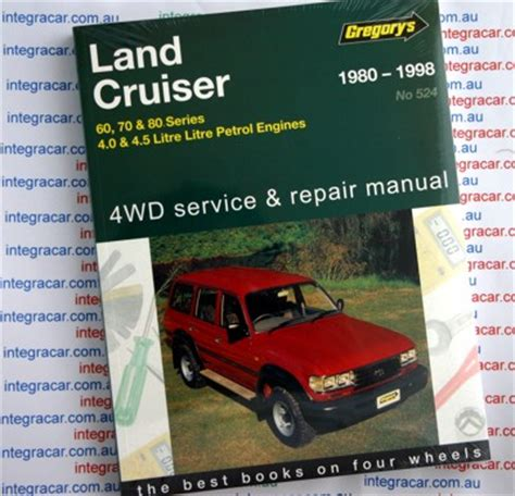 car manuals free online 1993 toyota land cruiser head up display toyota landcruiser 60 70 and 80 series 1980 1998 petrol gregorys repair manual new sagin