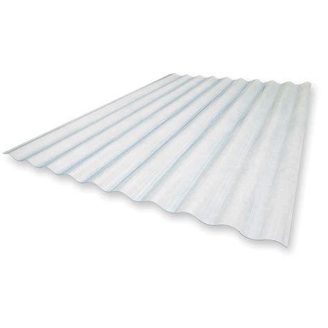 Clear Corrugated Roof Panels Image Clear Corrugated Fiberglass Roof Panels