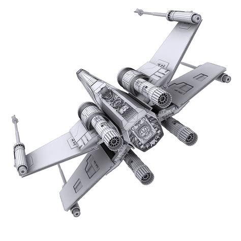 best x wing model wars x wing black t 70 3d model max obj fbx dae mtl
