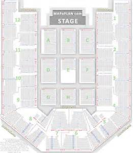 allphones arena seating plan detailed seat numebers row
