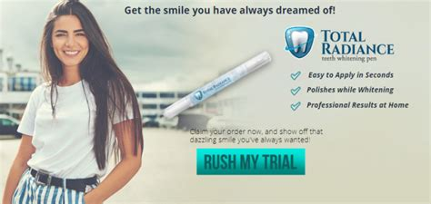 total radiance teeth whitening  reviews read  side