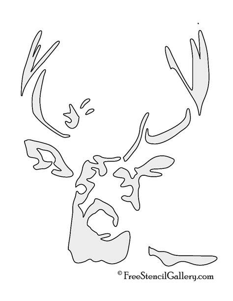 printable stencils deer 7 best images of deer head stencil printable deer head