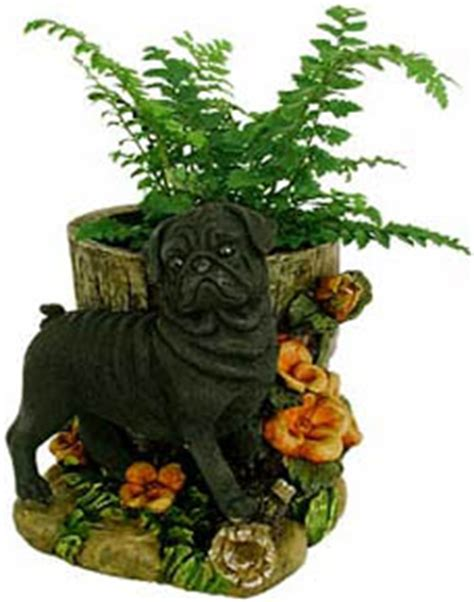 pug planter pugs dogbreed gifts pug flags outdoor decoration
