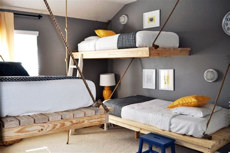 3 beds in one bedroom 16 clever ways to fit three kids in one bedroom