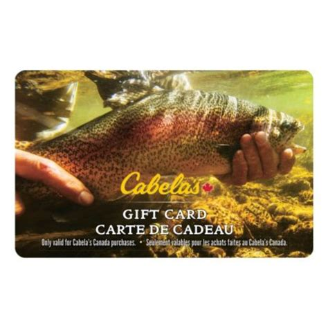 Cabelas Gift Card - cabela s canada gift card trout cabela s canada