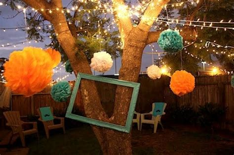 backyard christmas party ideas outdoor christmas party decoration ideas designcorner