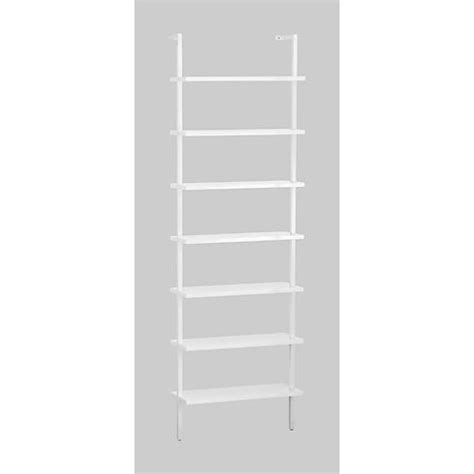 stairway wall mounted bookcase stairway white 96 quot wall mounted bookcase stairways wall